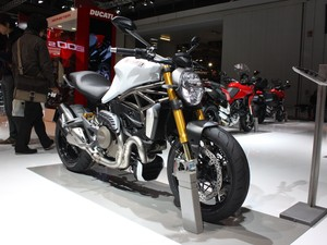Ducati Monster 1200 (Foto: Rafael Miotto/G1)