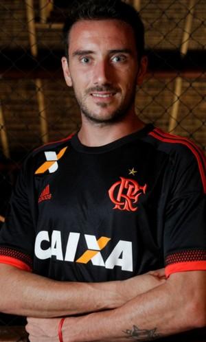 7f42ba56509f1 Nova camisa Flamengo Mancuello (Foto  Divulgação)