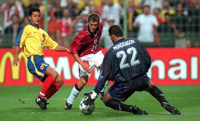 Faryd Mondragón Colômbia 1998 copa do mundo (Foto: Getty Images)
