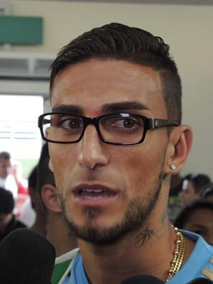 Rafael Marques Palmeiras desembarque (Foto: Felipe Zito)