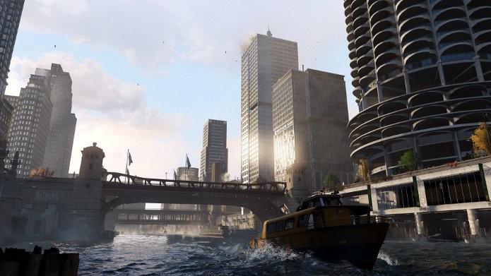 Watch Dogs trará uma Chicago futurista e detalhada. (Foto: Divulgação)