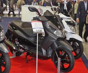 moto SYM Citycom (Foto: Rafael Miotto/G1)