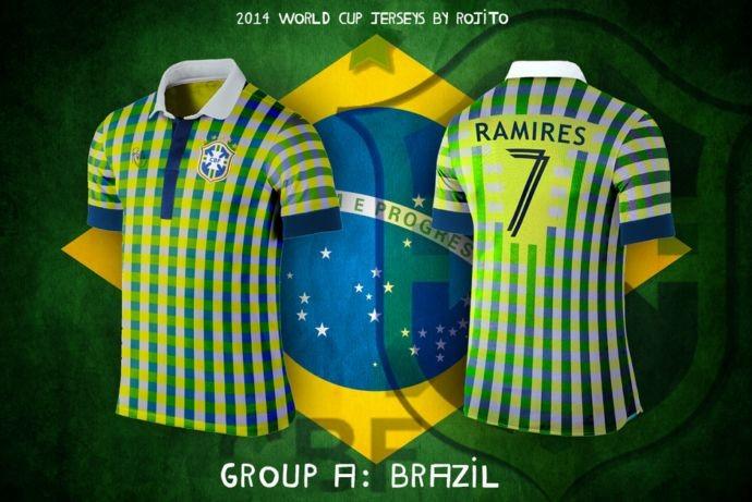 Blog da Copa - design camisa do Brasil