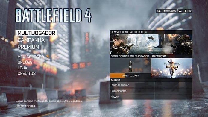 Battlefield 4: aprenda a alugar um servidor no game (Foto: Reprodução/Murilo Molina)