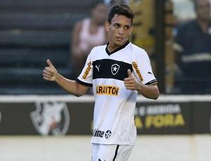 caio botafogo gol boavista (Foto: Satiro Sodré / Agência Estado)