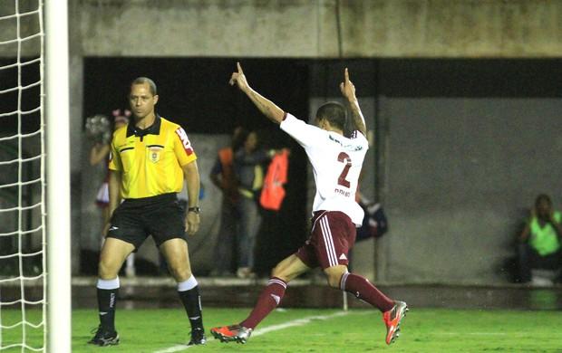 Comemoração Bruno Vieira, Bahia e Fluminense (Foto: Nelson Perez / Fluminense. F.C.)