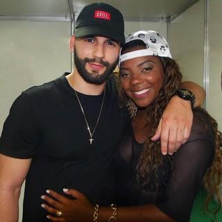 Xerxes Frechiani e Ludmilla (Foto: Reprodução/Facebook)