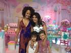 Aline Barros comemora aniversário de 5 anos da filha Maria Catherine