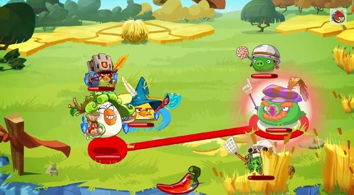 Angry Birds Epic será um jogo de RPG em turnos (Foto: Divulgação)