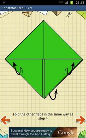 Instruções de Origami HD