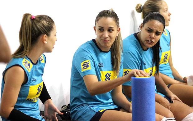 vôlei Camila Brait, Ellen e Suelen (Foto: Divulgação / CBV)