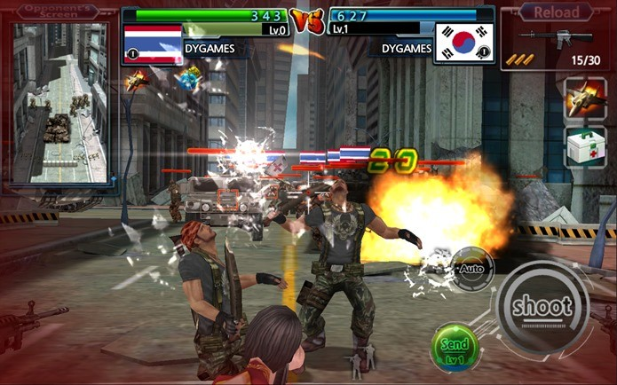 Game de competição de tiro online (Foto: Divulgação)
