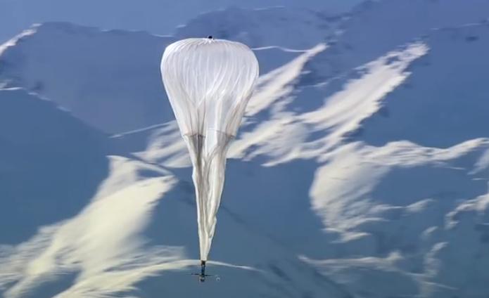 Balão usado no projeto Loon (Foto: Divulgação/Google)