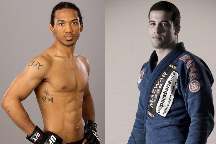 Ben Henderson x Augusto Tanquinho; ADCC, UFC (Foto: Marcelo Barone)
