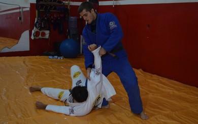 Manoel Fernandes, atleta de jiu-jitsu santarém (Foto: Weldon Luciano/GloboEsporte.com)