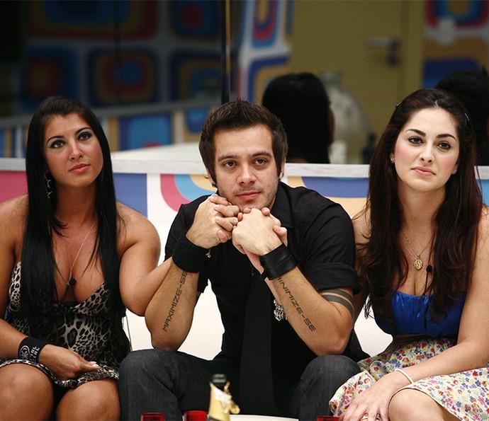 Max venceu Priscila e Francine no BBB9 (Foto: Tv Globo)