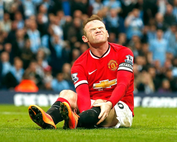 Rooney, Manchester City X Manchester United (Foto: Agência Reuters)