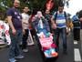 Protesto por melhorias na saúde fecha vias do Centro de Campinas