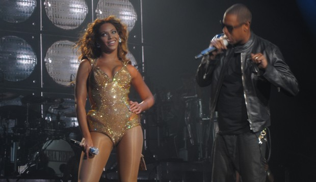 Beyonc e Jay-Z (Foto: Divulgao)