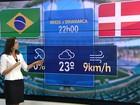 Dados do Inmet indicam que jogo do Brasil em Salvador será sem chuva