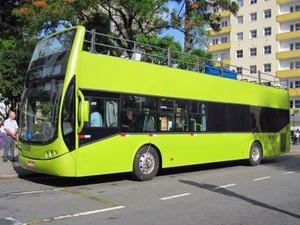 db12159f9 Exemplo de ônibus de dois andares divulgado pela Prefeitura de Vitória  (Foto: Divulgação)