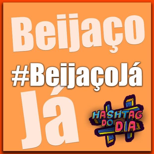 #HashtagDoDia: Beijaço Já (Foto: Malhação / TV Globo)