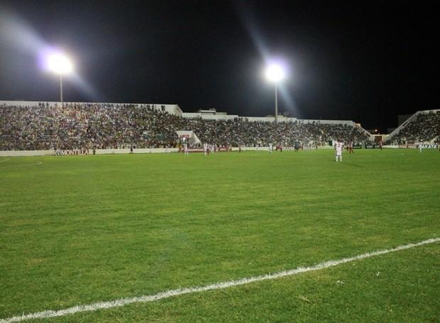 Estádio Cornélio de Barros volta a receber um jogo do Salgueiro (Foto: Emerson Rocha) (Foto: Foto: Emerson Rocha)