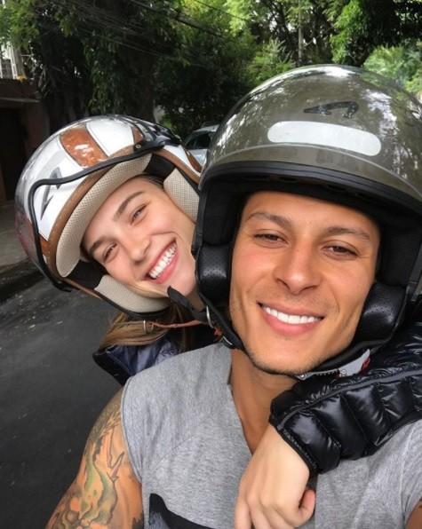 Marcela Fetter e o namorado, Rodrigo Lima (Foto: Reprodução / Instagram)