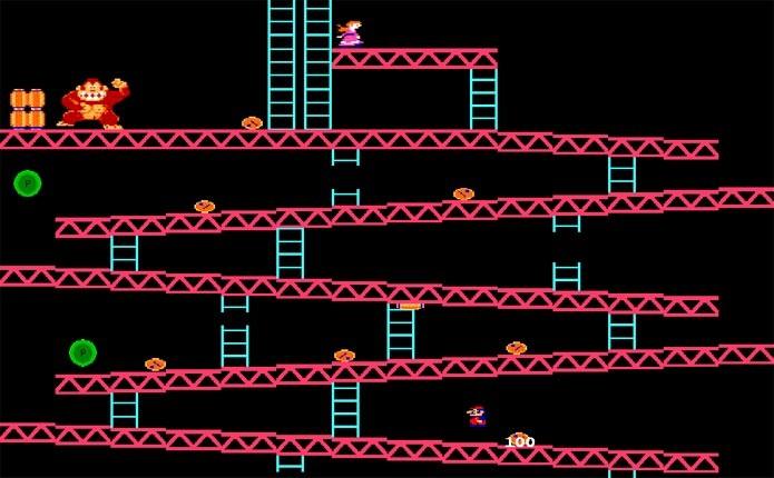Mario era a estrela em Donkey Kong (Foto: Divulgação)