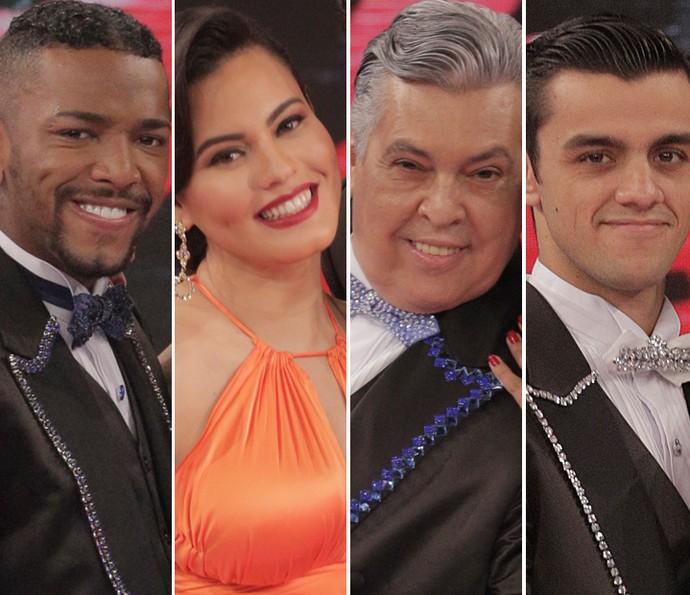 Reveja as apresentações do grupo B do 'Dança dos Famosos' (Foto: Inácio Moraes/ Gshow)