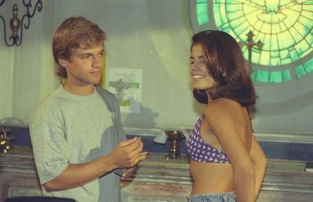 Com Nívea Stelmann em Era uma vez, novela exibida em 1998 Divulgação