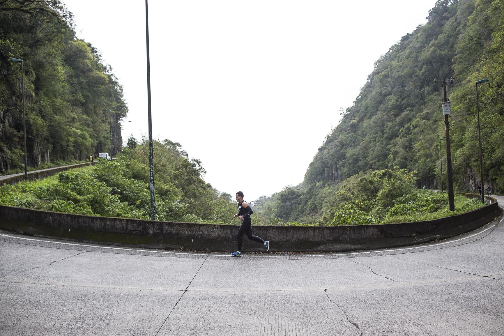 Mizuno Uphill: quilômetros e quilômetros de subidas (Foto: Divulgação)