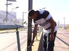 Eletricista alerta sobre fios expostos na Avenida Anhanguera, em Goiânia