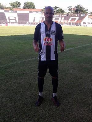 Weldon atacante do Independente de Limeira (Foto: Denis Suidedos / Gazeta de Limeira)