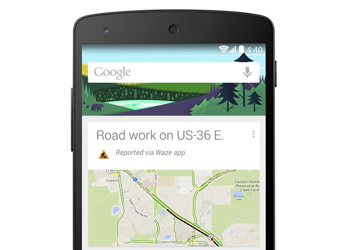 Update do Google Now leva alertas de acidentes e bloqueios nos trajetos (Foto: Divulgação/Google)