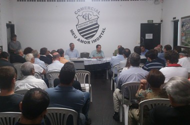 Reunião Conselho Deliberativo Comercial (Foto: João Fagiolo)