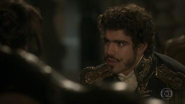 Dom Pedro se sente atraído por Domitila