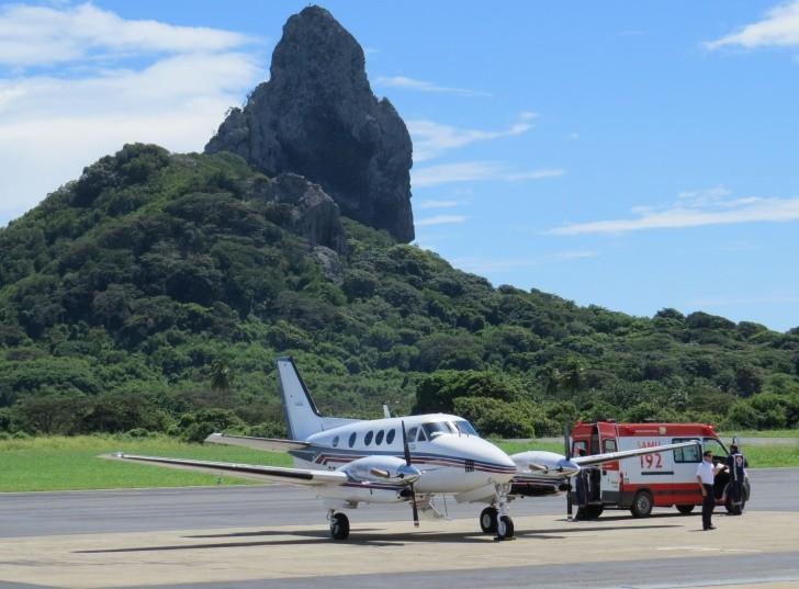 Avião de salvamento Noronha