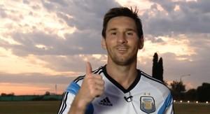 Messi treino Argentina (Foto: Divulgação)