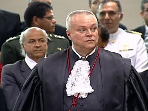 Pedro Valls Feu Rosa é o novo presidente do Tribunal de Justiça do Espírito Santo (TJES) (Foto: Reprodução/TV Gazeta)