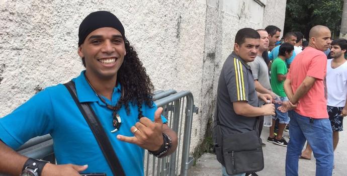 Ronaldinho Cover Fla-Flu (Foto: Lucas Strabko)