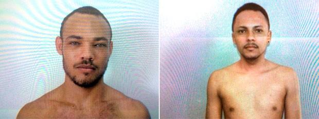 Francisco Neilson da Silva, mais conhecido como 'Monstro', e Antônio Maniçoba de Oliveira Filho, o 'Neguinho Maniçoba', são procurados pela polícia  (Foto: Divulgação/Direção do Presídio de Pau dos Ferros)