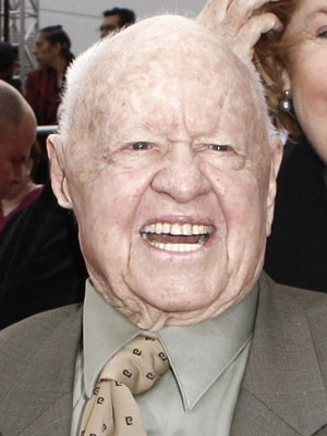 O ator Mickey Rooney (Foto: AP)