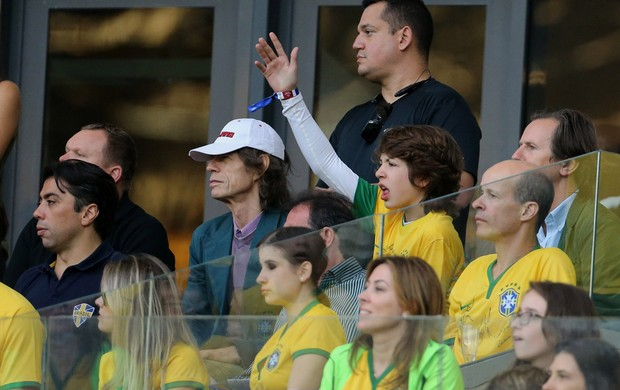 Kia, Mick Jagger e Lucas Jagger Brasil x Alemanha