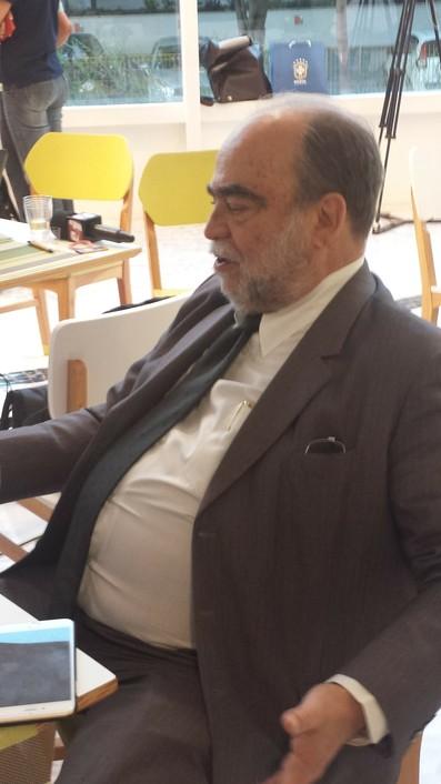 Delfim Peixoto, vice-presidente da CBF (Foto: Igor Rodrigues)
