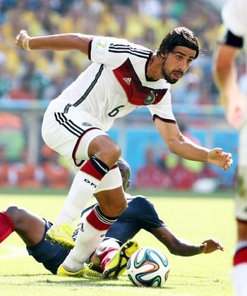 Khedira Alemanha x França   (Foto: André Durão)