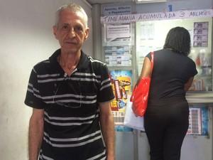 Eustáquio Moreira destaca que outras apostas da unidade já foram premiadas (Foto: Henrique Mendes / G1)