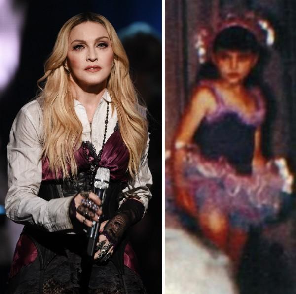 A cantora Madonna ainda criança (Foto: Getty Images/Instagram)