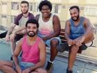 Banda Sabiá de Palha anima a noite em Volta Redonda, no Sul do Rio