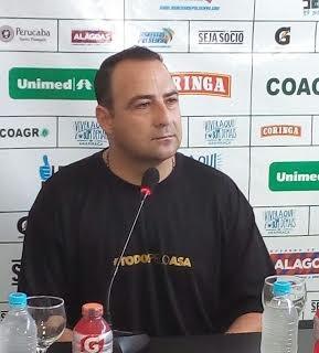 Paulo Foiani, técnico do ASA (Foto: Carlos Frazão/Arquivo Pessoal)